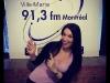 Entrevue à Radio Ville-Marie, 91,3 FM